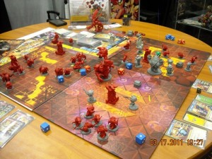 Una partita a Super Dungeon Explore