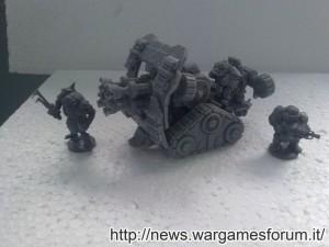 Jotunn, Marauder e Forgefather Steel Warrior a confronto