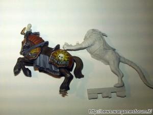Confronto tra la tigre e un cavallo GW