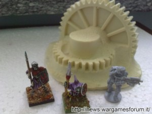 Ingranaggi CosmicPlanets con miniature GW e Mantic Games
