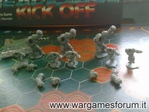 Greenmoon Smackers, gli Orchi di Dreadball