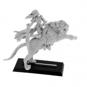 Troll Outpost - Elf Assassin on Tiger