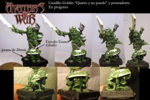 WIP del nuovo Re Goblin di Avatars of War