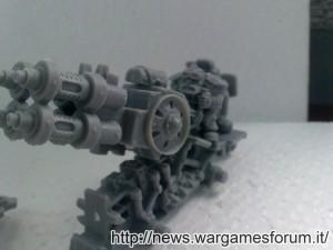 Jotunn, dettaglio della struttura e del cannone