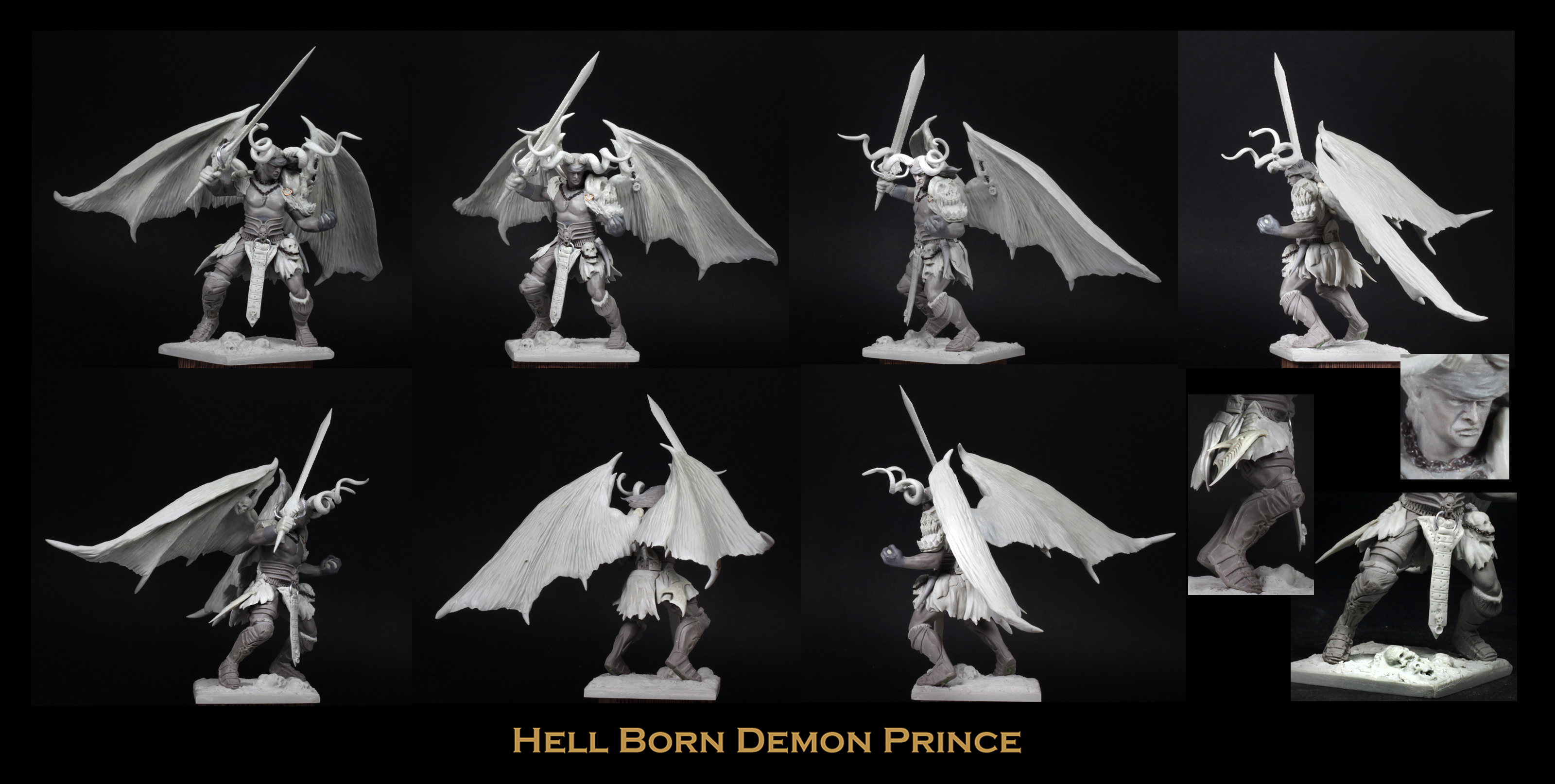 Hell Born Demon Prince
